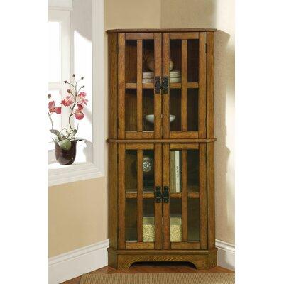 Chaya Corner Curio Cabinet