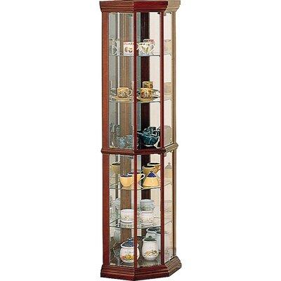 Benton City Corner Curio Cabinet