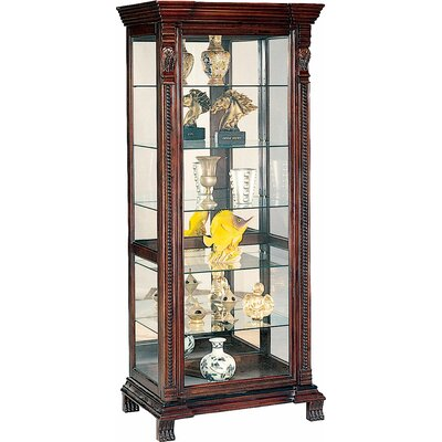 Asotin Lighted Curio Cabinet