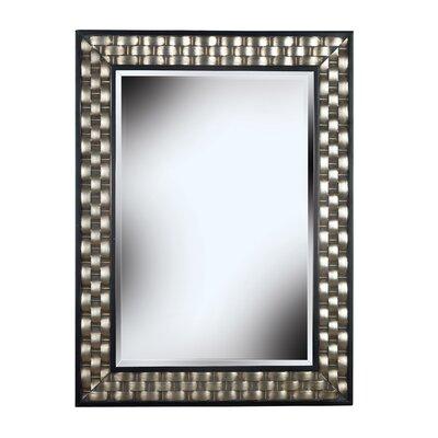 wildon home checker wall mirror open crate