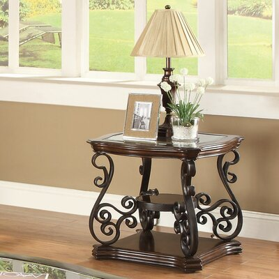 Bearup End Table