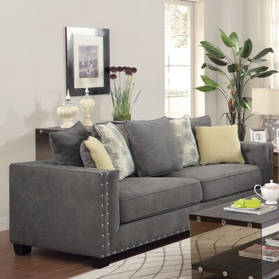 612532 CST16974 Wildon Home Shayla Tufted Sofa