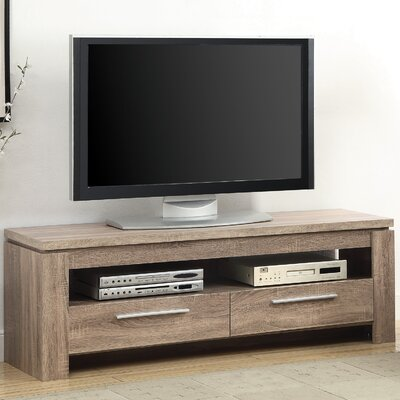 """Wildon Home 59"""" TV Console - Finish: Distressed Brown at Sears.com"""