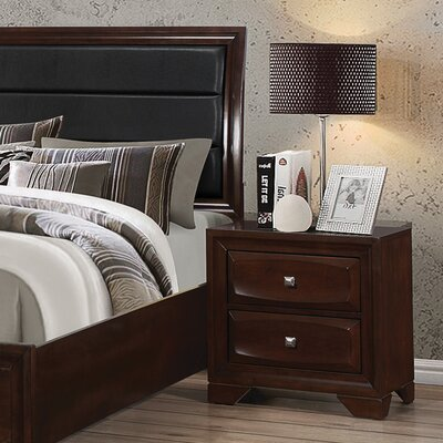 Jaxson 2 Drawer Nightstand