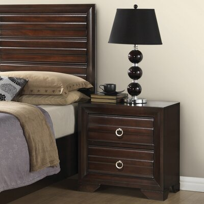 Bryce 2 Drawer Nightstand