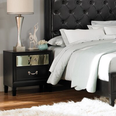 Devine 2 Drawer Nightstand
