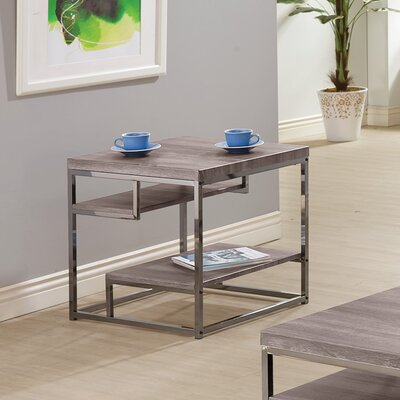 End Table Color: Dark Grey