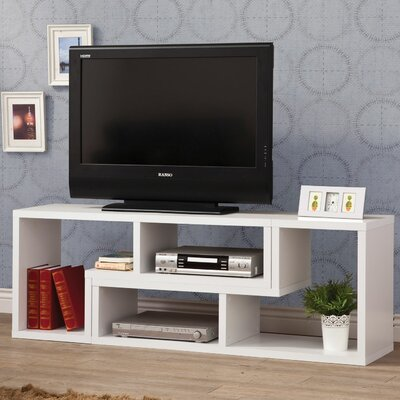 Banach 47 TV Stand Color: White