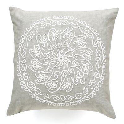 Charlita Cotton Throw Pillow Color: Khaki