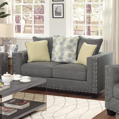 612533 CST17291 Wildon Home Shayla Tufted Loveseat