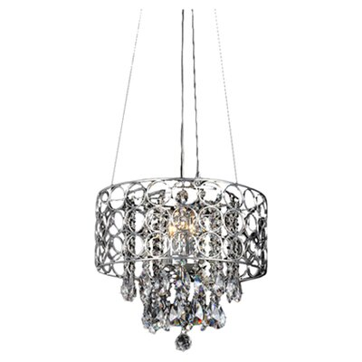 Myra 3-Light Crystal Chandelier