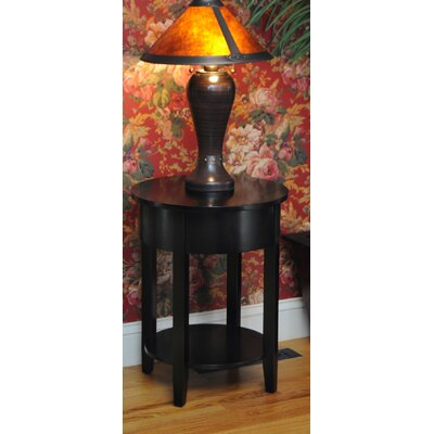 Bay Shore End Table Finish: Black