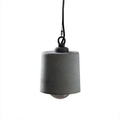 Cement Pendant Light Size: Small