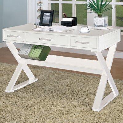 Wildon Home  Bicknell 3 Drawer Writing Desk