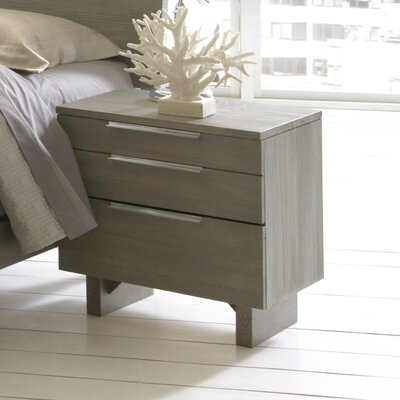 Mell 2 Drawer Nightstand