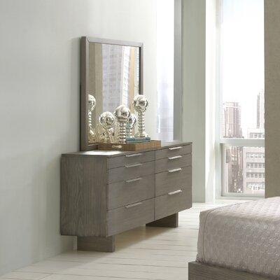 Violet 8 Drawer Dresser with Mirror