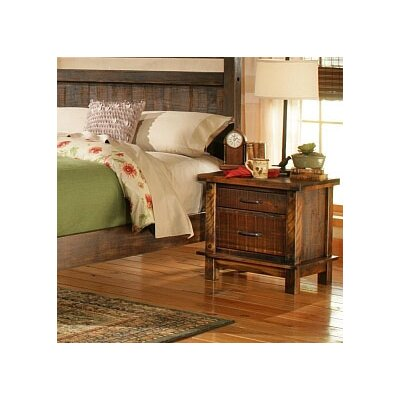 Leadville 2 Drawer Nightstand