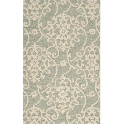 Emmeline Hand-Woven Indoor/Outdoor Area Rug Rug Size: Rectangle 5 x 8