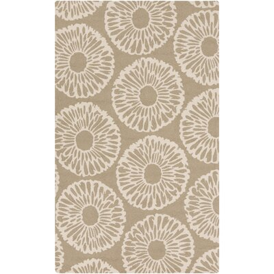Kinde Light Gray/Ivory Indoor/Outdoor Area Rug Rug Size: 9' x 12'