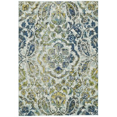 Anabranch Green/Blue Area Rug Rug Size: Runner 21 x 71