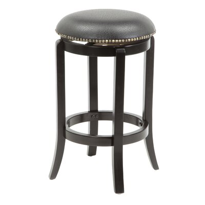 24 Swivel Bar Stool Finish: Espresso