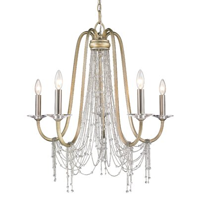 Allen 5-Light Crystal Chandelier