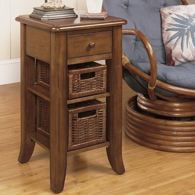 Handy Stand End Table Finish: Medium Brown