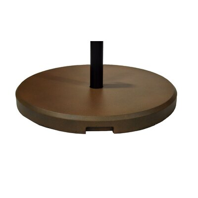 Fiberstone Umbrella Base Color: Bronze