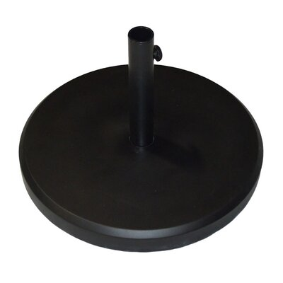 Fiberstone Umbrella Base Color: Black
