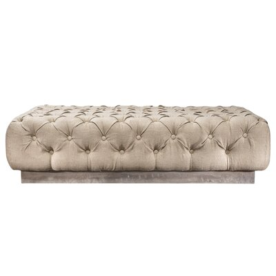 Beckford Ottoman Color: Natural
