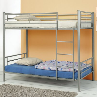 Eightmile Twin Bunk Bed Finish: Silver