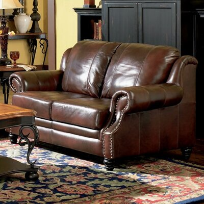 Harvard Leather Loveseat