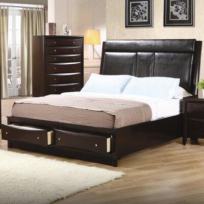 Crawford Upholstered Platform Bed Size: Queen