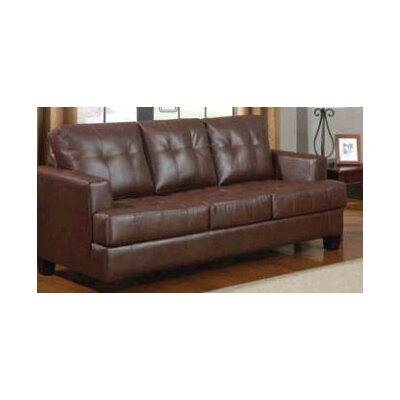 Arine Sleeper Sofa Upholstery: Dark Brown