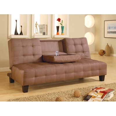 300153 CST2607 Wildon Home Deadwood Convertible Sofa