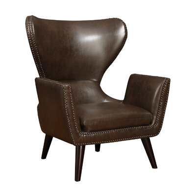 Nailhead Wingback Chair