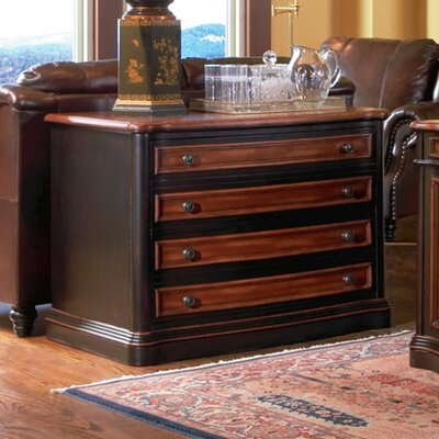 Corona 4 Drawer Home Office Chest