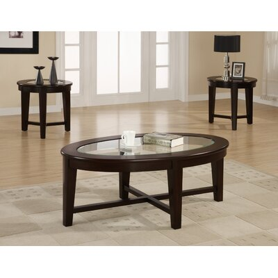 Jalbert 3 Piece Coffee Table Set