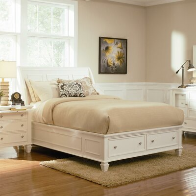 South Berwick Storage Platform Bed Size: King