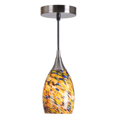 Alva 1-Light Mini Pendant Shade Color: Confetti