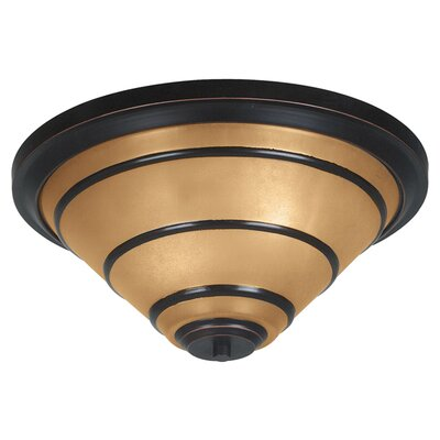 Brookings 2-Light Flush Mount