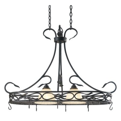 Countryside 2-Light Hanging Foyer Pendant
