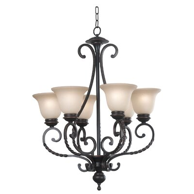 Harley 6-Light Shaded Chandelier