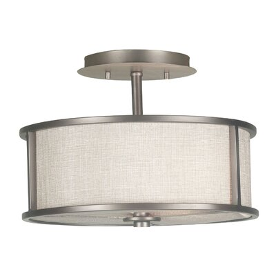 Kiel 2-Light Semi Flush Mount