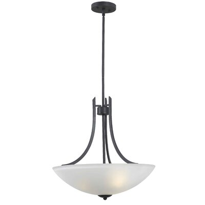 Bleecker 3-Light Bowl Pendant