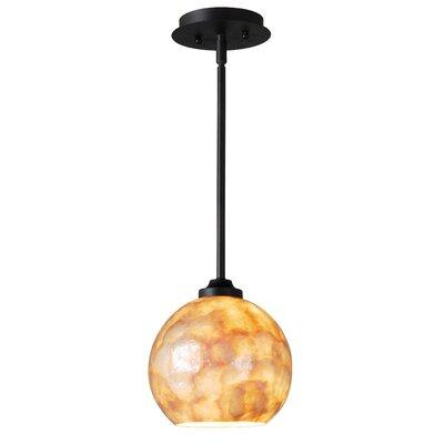Aden 1-Light Globe Pendant Size: 9 H x 9 W x 9 D