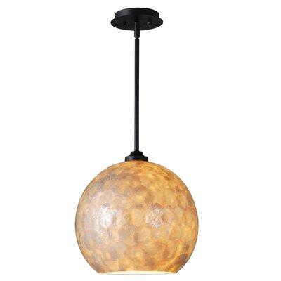 Aden 1-Light Globe Pendant Size: 10 H x 12 W x 12 D