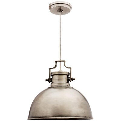 Mulberry 1-Light Mini Pendant Finish: Antique Nickel