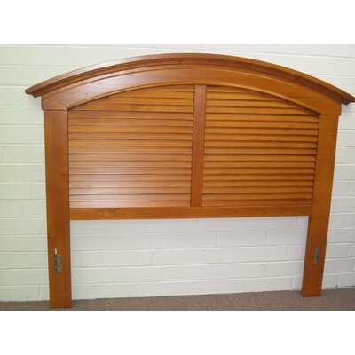 Irish Countryside Panel Headboard Size: King, Color: Saddle Brown