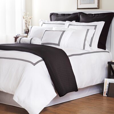Baratto with Triple Embroidered Stripes Duvet Cover Collection
